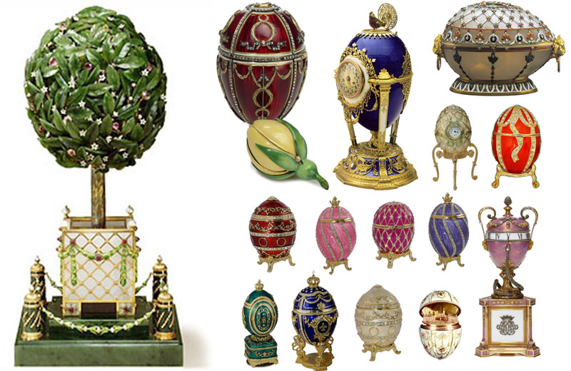 What is the history of the Faberge Egg?